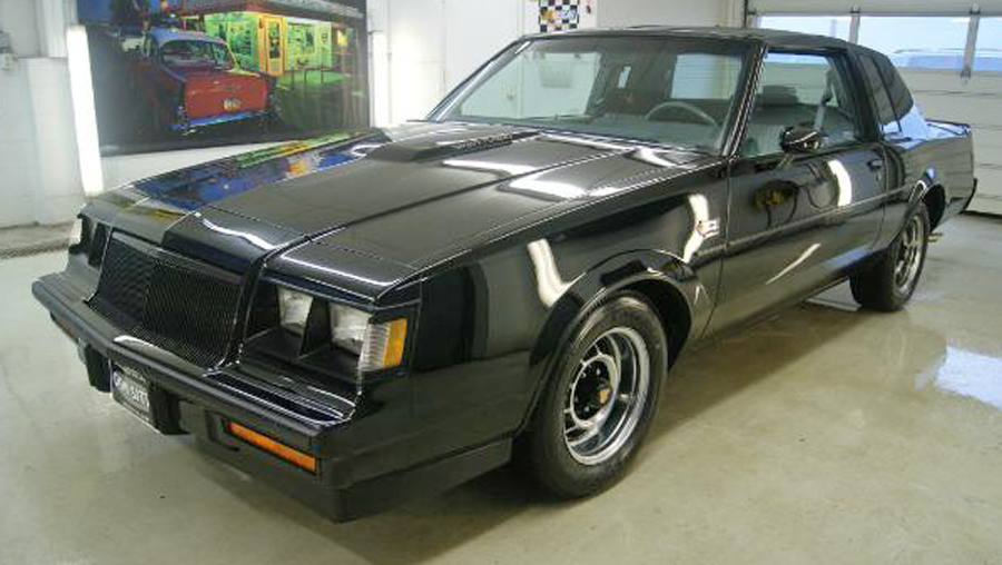 1986 Buick Grand National T Top Coupe