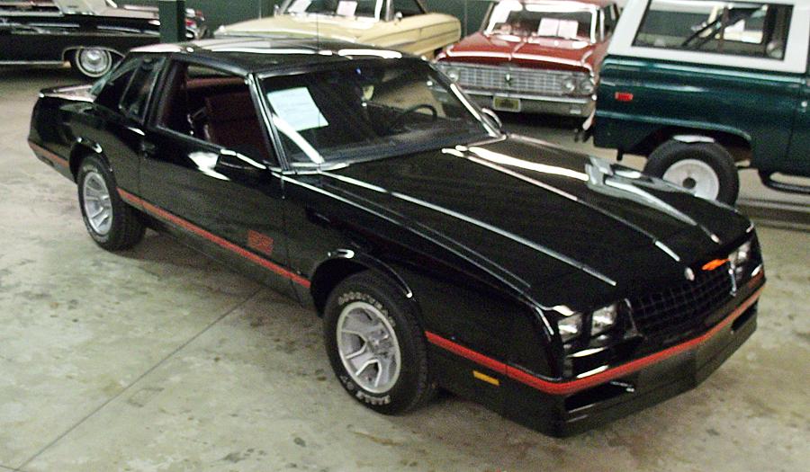 Chevrolet Monte Carlo SS Aerocoupe