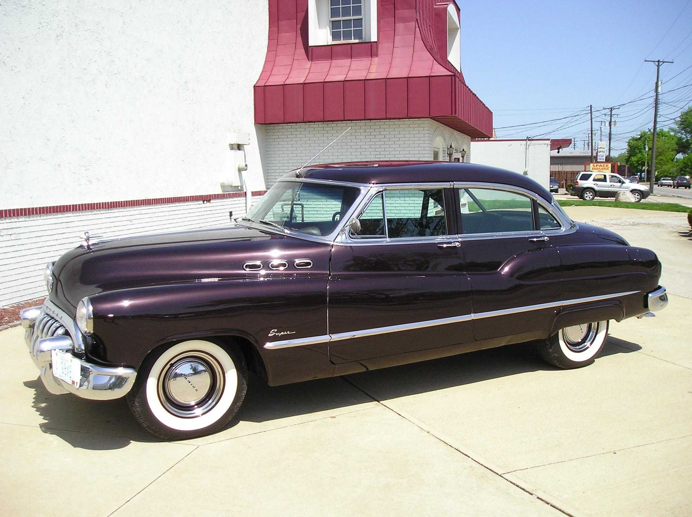 1950 Buick Super model 52 lwb.