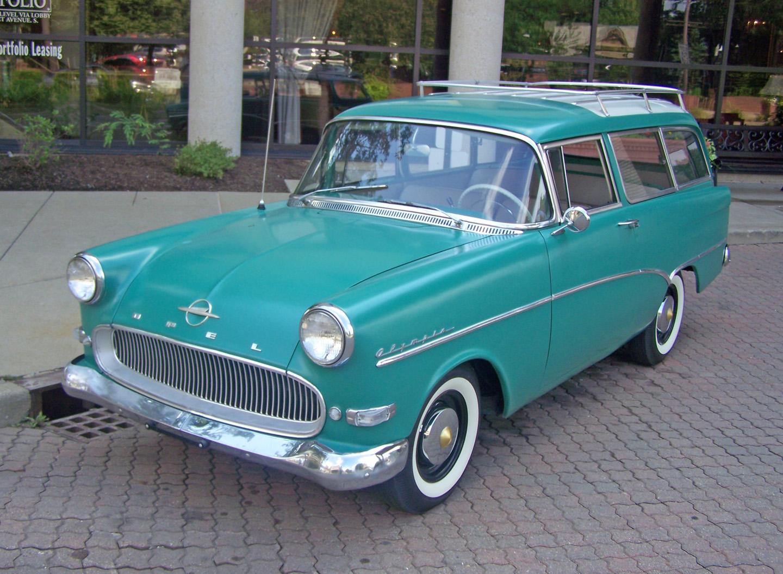 1960 Opel Rekord Olympia