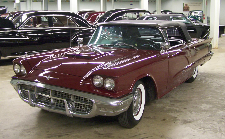 Thunderbird convertable,