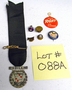 088A Metal Buttons, Tie Tacks and Lapel Pins NO RESERVE/ABSOLUTE