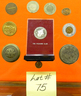 075 Token, Badge and Coin Lot NO RESERVE/ABSOLUTE